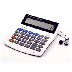 Calculatrice 10-digit big LCD parlante