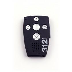 Dictaphone et lecteur MP3 Milestone 312 Daisy avec option radio