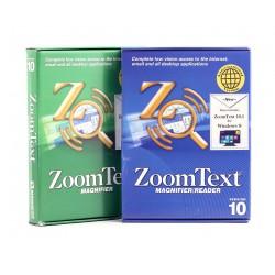 Logiciel d'agrandissement Zoomtext 10 niveau 2 Magnifier/ScreenReader